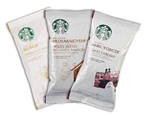 starbucks coffee packets